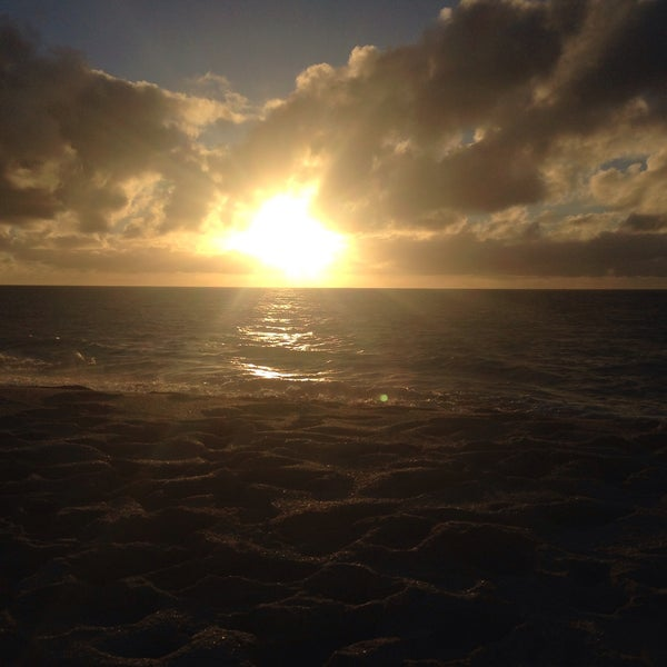 Photo taken at Maili Beach by Brenda B. on 12/26/2014
