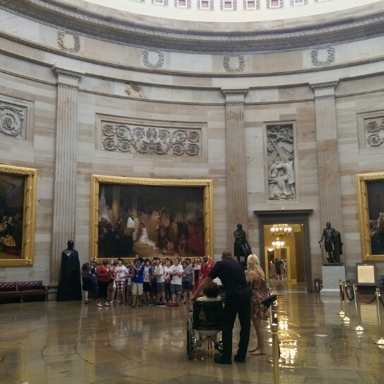 Photo taken at Rotunda of the U.S. Capitol by Schweet Life on 5/26/2014