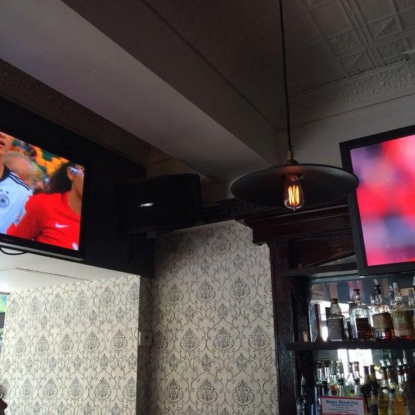Photo taken at Baker Street Pub by SuBarNYC on 7/4/2015