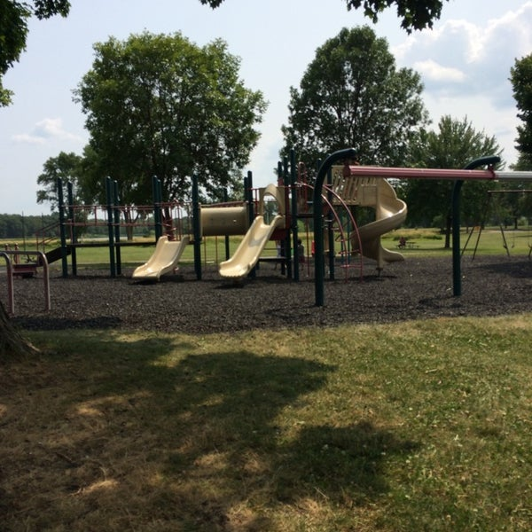 Photo taken at Warner Park by Christopher T. on 7/31/2014