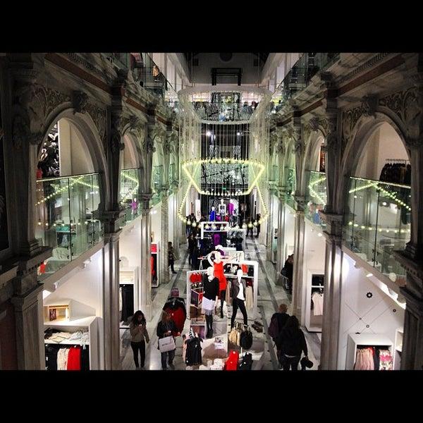 Photo taken at H&M by Alexia K. on 12/8/2012