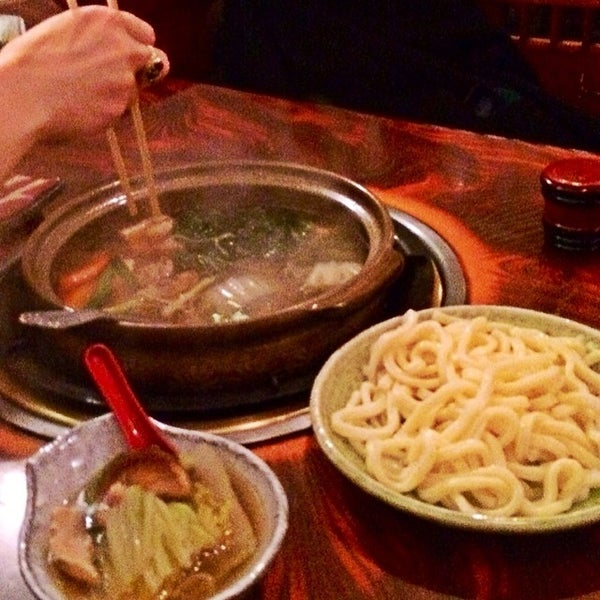 Photo taken at Shabu-Tatsu by Matt B. on 2/8/2014
