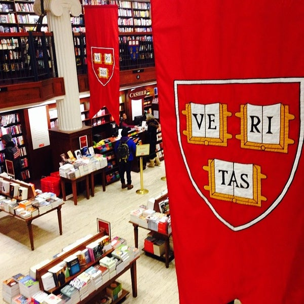 Photo taken at Harvard Coop Society Bookstore by euam1824 K. on 2/10/2014