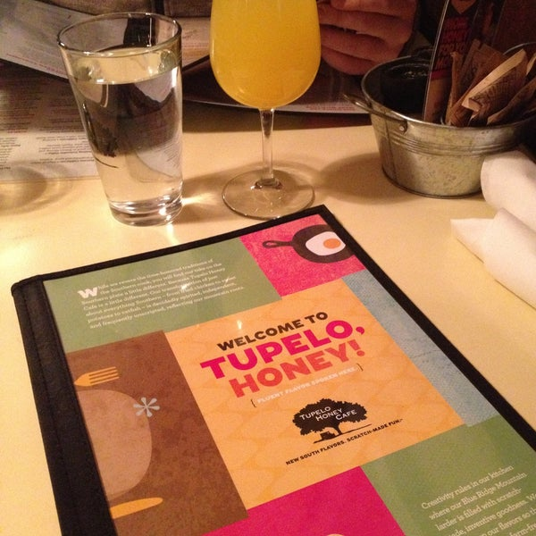 Photo taken at Tupelo Honey Cafe by Allison on 4/14/2013