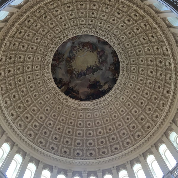 Photo taken at Rotunda of the U.S. Capitol by Kimmee A. on 9/14/2016