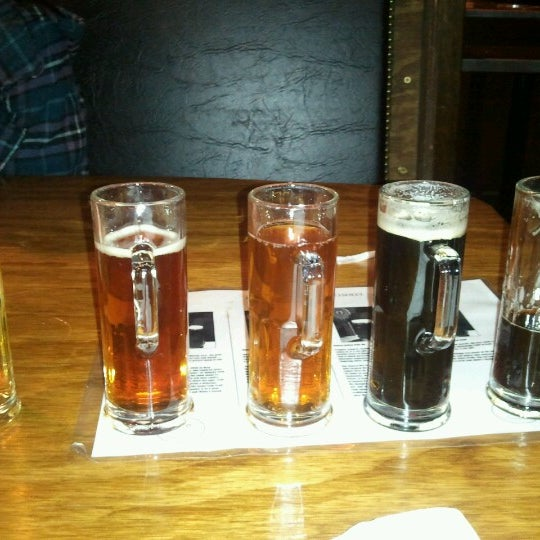 Photo taken at Mountain State Brewing Co. by Luke W. on 1/19/2013