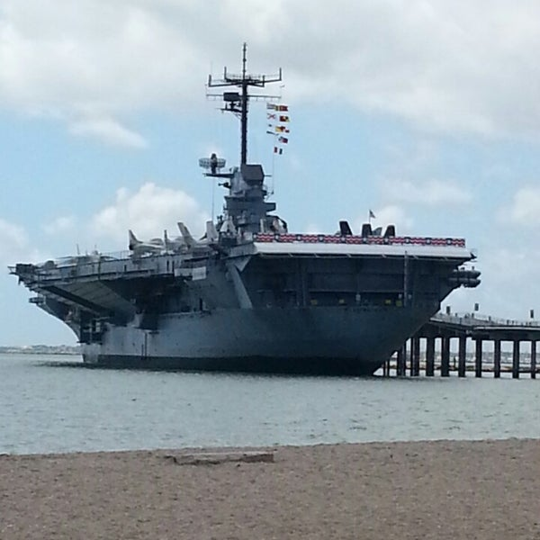 Photo taken at USS Lexington Museum On The Bay by Gary F. on 8/12/2013