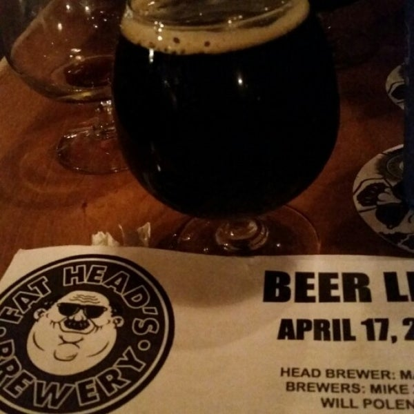 Photo taken at Fat Head's Brewery & Saloon by Victor J. on 4/18/2015