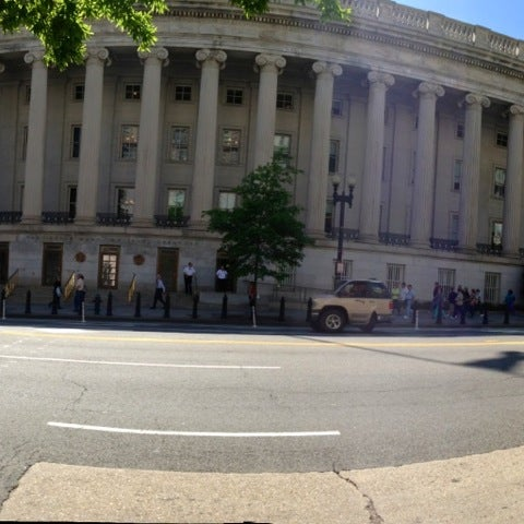 Photo taken at US Department of the Treasury by Milt S. on 5/2/2013