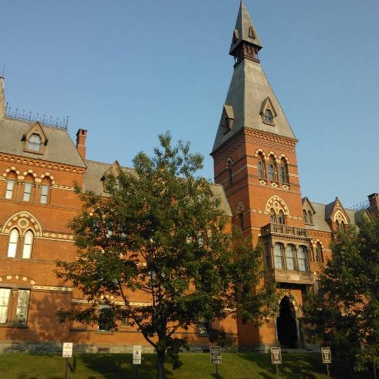 Photo taken at Sage Hall by Sergey V. on 9/10/2013