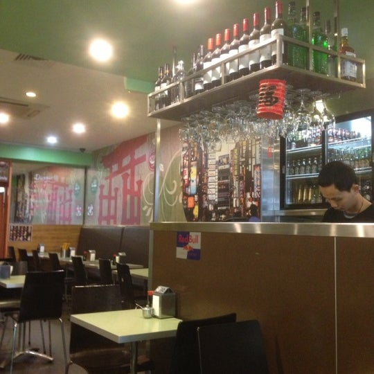 Photo taken at Gigi Sushi Bar by Bloomblym N. on 11/2/2012