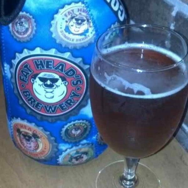 Photo taken at Fat Head's Brewery & Saloon by Jen B. on 9/2/2013