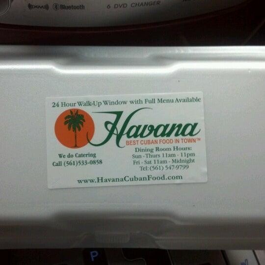 Photo taken at Havana Restaurant by Ashleigh M. on 10/24/2012