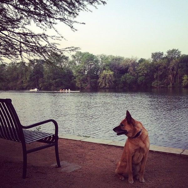 Photo taken at Lady Bird Lake Trail by David F. on 4/16/2013