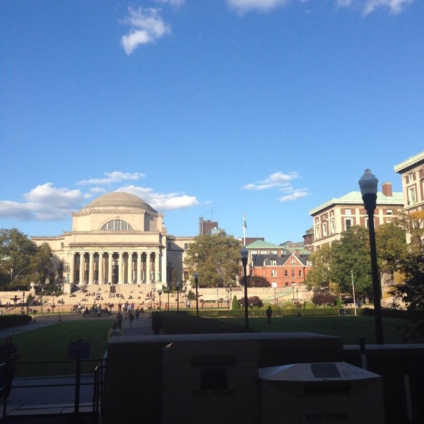 Photo taken at South Lawn Columbia University by Scott T. on 10/20/2013