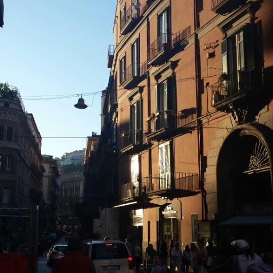 Photo taken at Piazza dei Martiri by Elisza O. on 8/28/2014