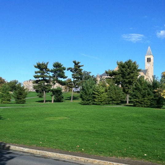 Photo taken at Cornell University by Pete W. on 10/6/2012
