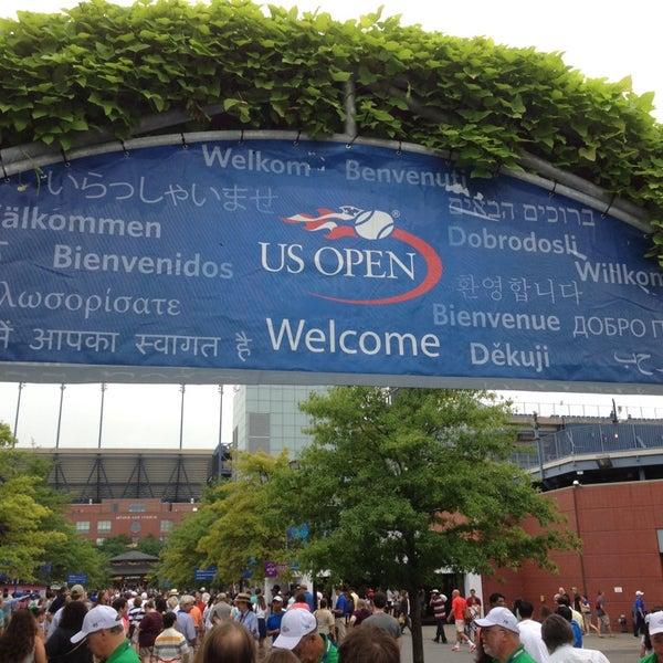 Photo taken at US Open Tennis Championships by Thomas J. on 9/1/2013