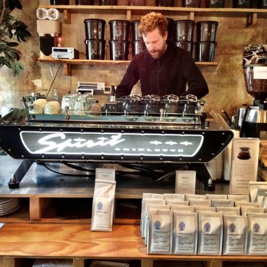 Photo taken at Bonanza Coffee by Manthos C. on 10/18/2012