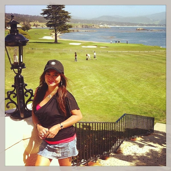 Photo taken at The Lodge at Pebble Beach by 💋JinkyJane✈✈✈🇺🇸 on 4/28/2013