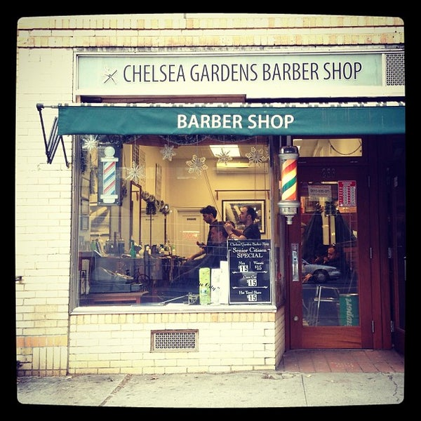 Chelsea Gardens Barber Shop Salon Barbershop in Chelsea