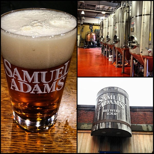 Photo taken at Samuel Adams Brewery by Travis B. on 6/7/2013