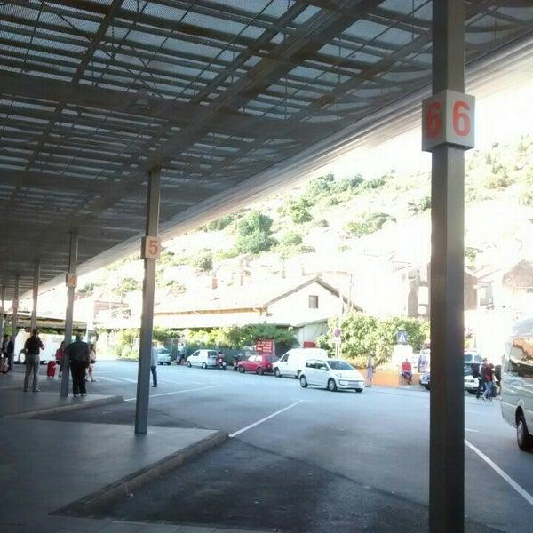 Photo taken at Autobusni Kolodvor Dubrovnik | Dubrovnik Bus Station by Badruz B. on 9/7/2015