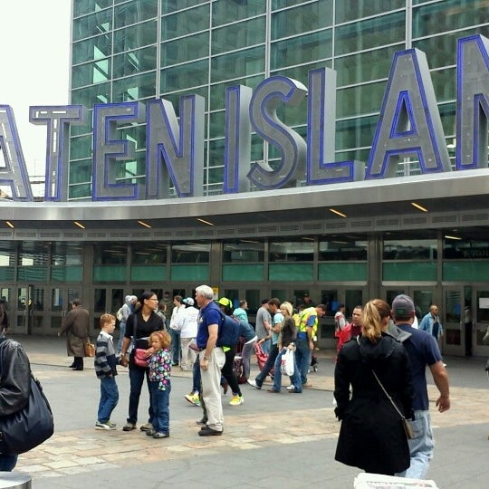 Photo taken at Staten Island Ferry Boat - Guy V. Molinari by Michael T. on 10/16/2013