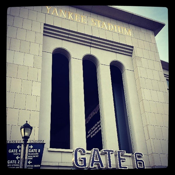 Photo taken at Yankee Stadium by Kelly S. on 7/20/2013