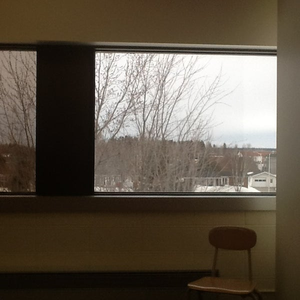 Photo taken at Cegep De St Félicien by Carlos R. on 3/19/2013