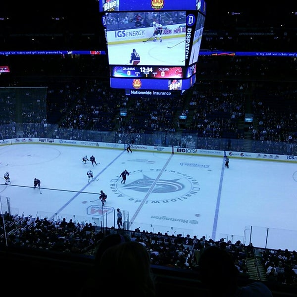 Photo taken at Nationwide Arena by Roosevelt Theodore W. on 3/22/2013