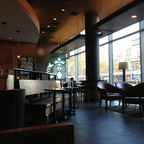 Photo taken at Starbucks 星巴克 by Paolo 7. on 2/1/2013