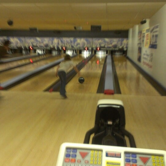 Photo taken at Digger's College City Bowl by Amanda V. on 3/17/2013