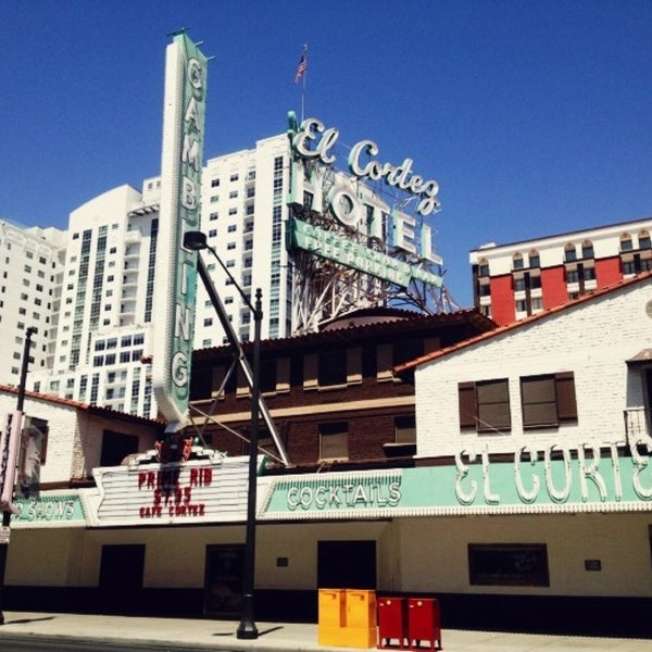 Photo taken at El Cortez Hotel & Casino by bethanne on 4/28/2013