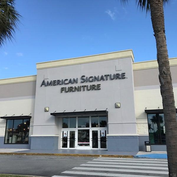 American Signature Furniture Miami Fl