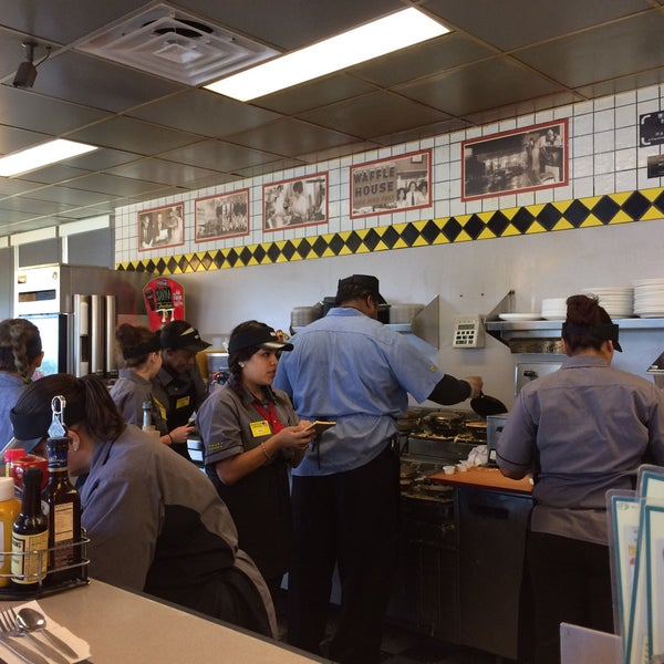 Real interesting set up. They have 13 workers for a place that seats ~30, and they all are squished behind a counter with orders in an assembly line so our food was cold. Hash browns were not worth it
