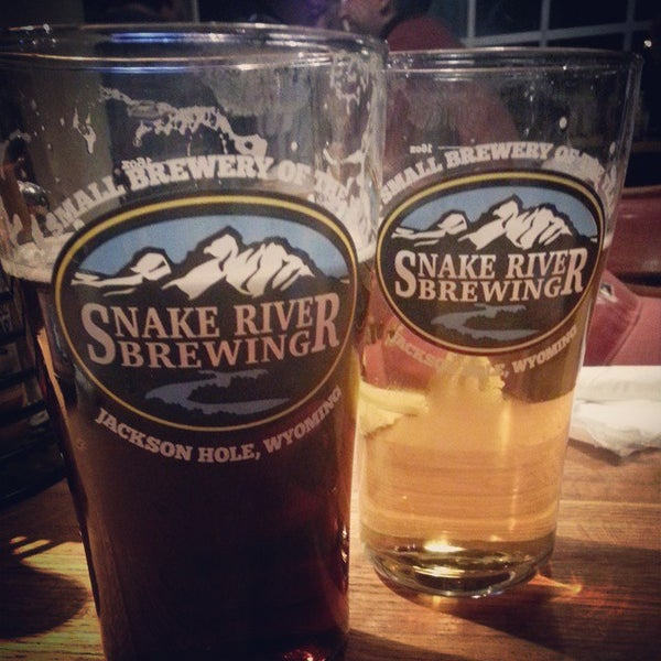 Photo taken at Snake River Brewery & Restaurant by Petr W. on 3/1/2015