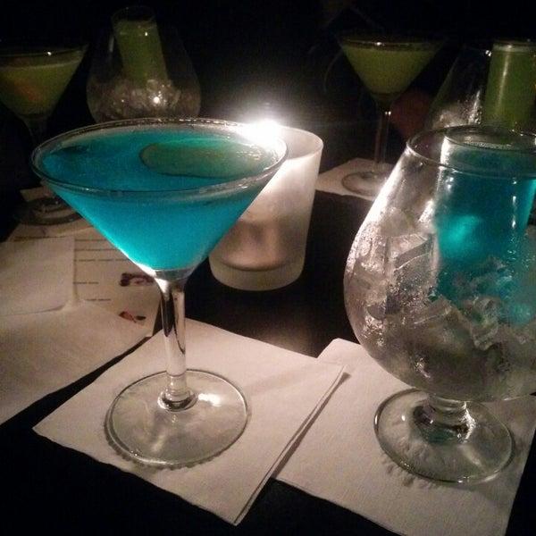 Photo taken at The Blue Monkey Lounge by Néstor on 3/14/2015