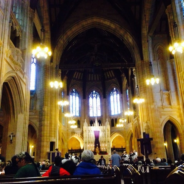 Photo taken at St. Dominic's Catholic Church by Rika P. on 4/19/2014