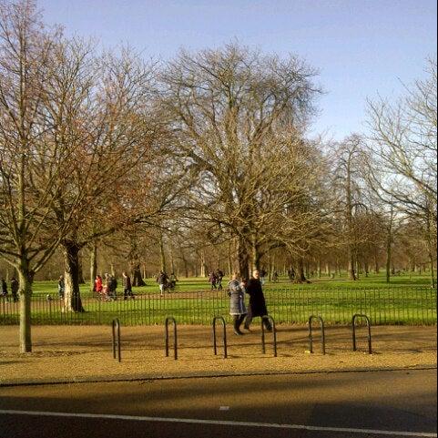 Photo taken at Kensington Gardens by R B. on 1/26/2013