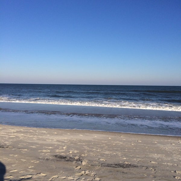 Photo taken at Carolina Beach by Jamie M. on 2/27/2014