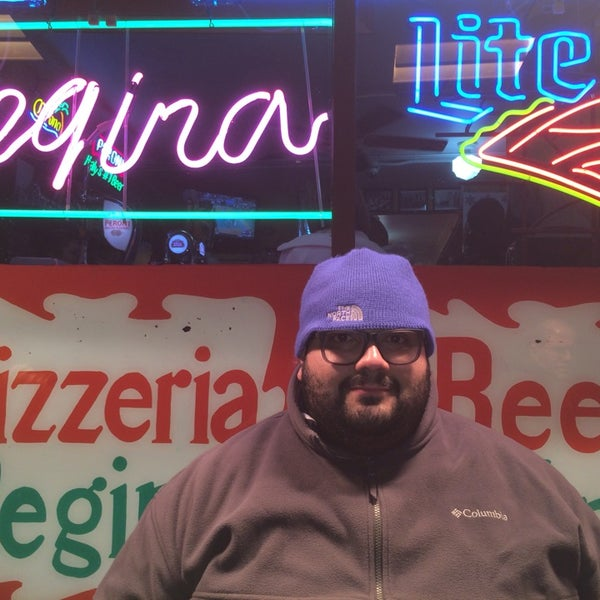 Photo taken at Regina Pizzeria by Rebull J. on 3/8/2014