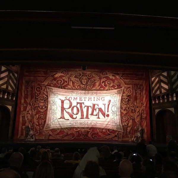 Photo taken at St. James Theatre by IngenieroDavid on 10/2/2016