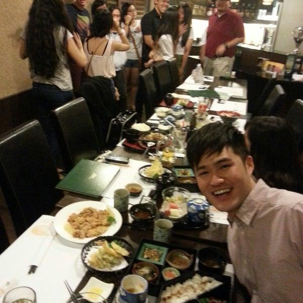 Photo taken at Hyotan Japanese Restaurant by Nadia S. on 12/4/2014
