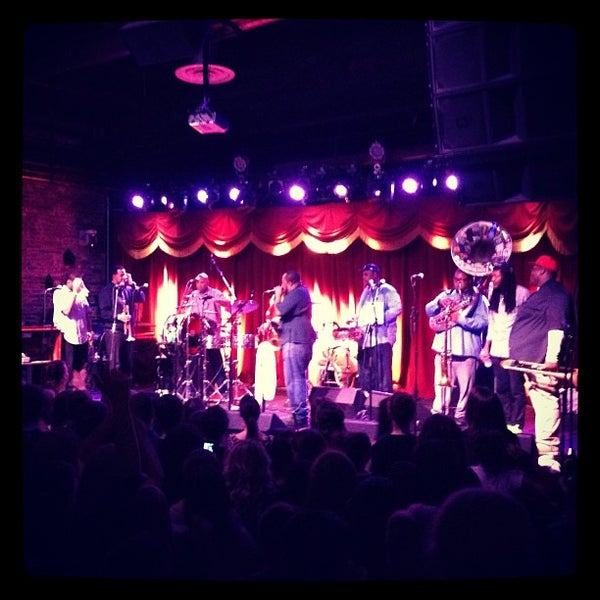 Photo taken at Brooklyn Bowl by Jeff M. on 2/17/2013