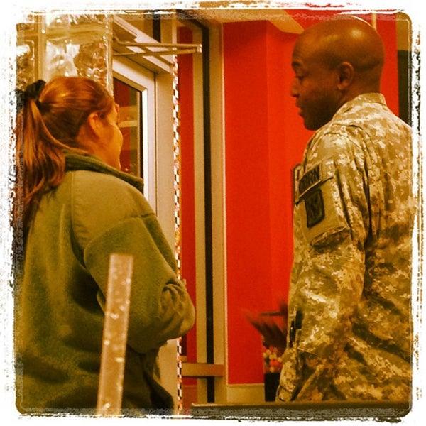 Photo taken at Steak 'n Shake by Adam M. on 10/13/2012