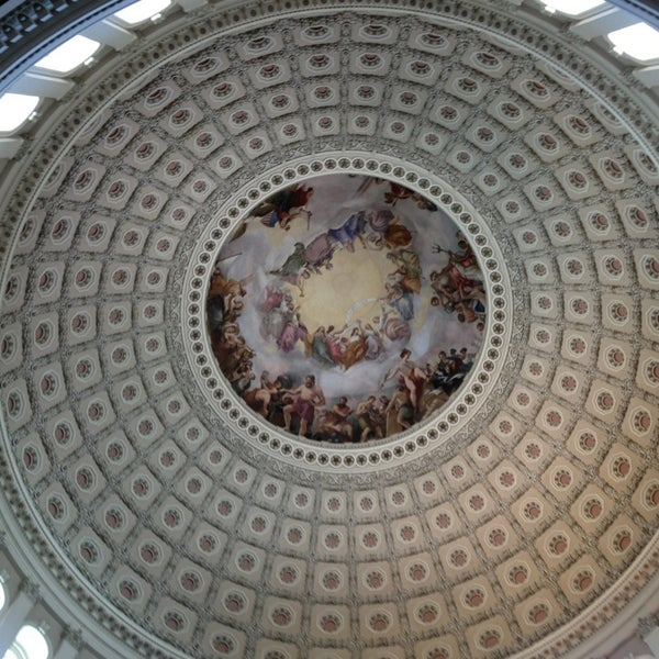 Photo taken at Rotunda of the U.S. Capitol by Emilie A. on 7/29/2013