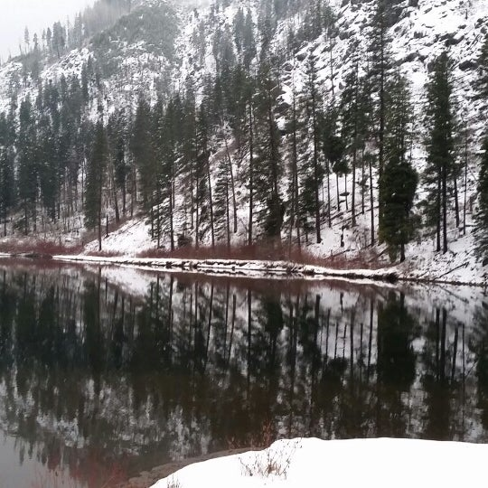 Photo taken at Town of Leavenworth by Tabby B. on 1/11/2015