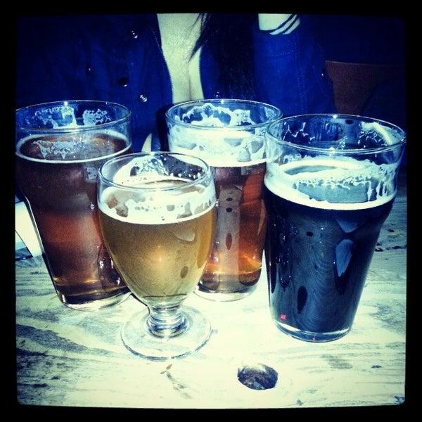 Photo taken at Three Floyds Brewery & Pub by Jennifer C. on 2/24/2013