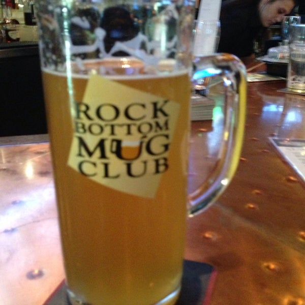 Photo taken at Rock Bottom Restaurant & Brewery by Pyratebob on 10/6/2013